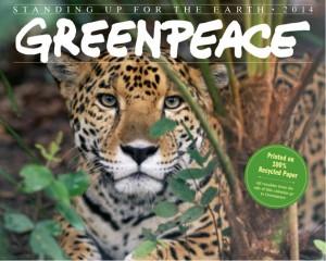 Calendario greenpeace 2014